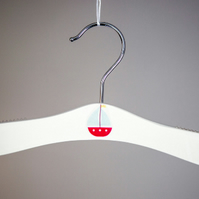 Baby hanger with sailing boat motif