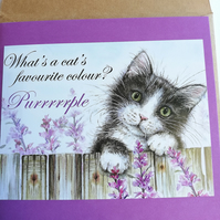 The purrrfect card
