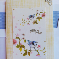 With love card for someone special