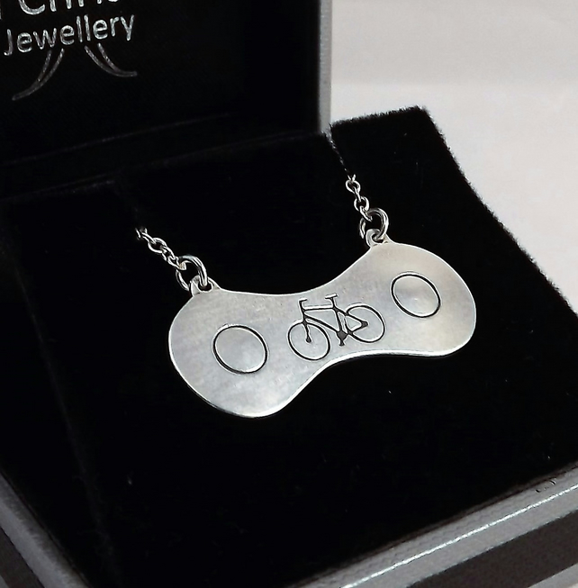 Bicycle Chain Pendant