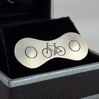 Cycling Tie Pin