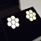 Honeycomb Stud Earrings