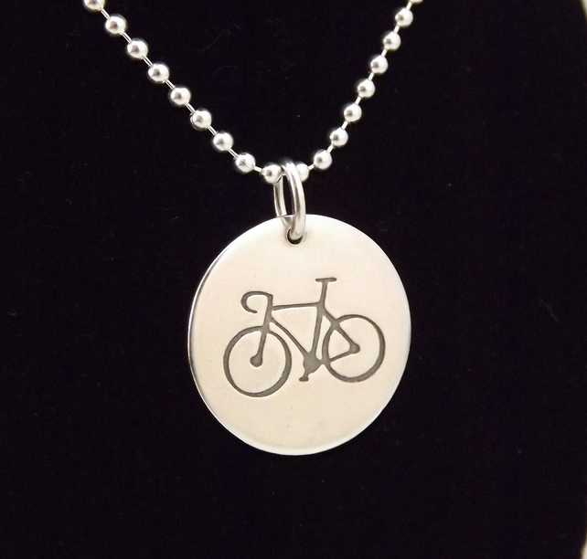 Bicycle Pendant (Disc)