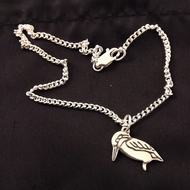 Kingfisher Anklet