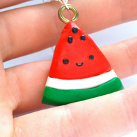 Kawaii watermelon slice