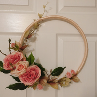 Beautiful Modern Floral Wreath