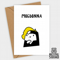 Madonna Cat Birthday card