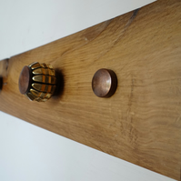 Jewellery Wall Hanger on 16th Century English Oak