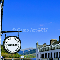 "Inveraray Main Street, Scotland - Photo Print 20"" x 16"""