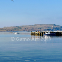 "The Old Pier, Millport, Scotland - Photo Print 20"" x 16"""