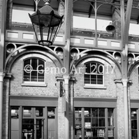 "Covent Garden, London - Photo Print - Black & White 20"" x 16"""