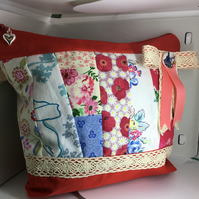 Patchwork Makeup bag