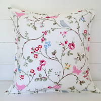 Cushion Cover Bird Trail