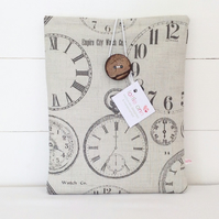 iPad Cover Vintage Clocks