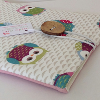 iPad Cover Multi Owls
