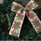 5x handmade bows for  Christmas tree decoration