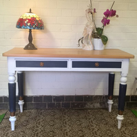 Console Table, Hallway Table, Antique Table