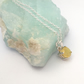 Sterling Silver and Yellow Opal Pendant.