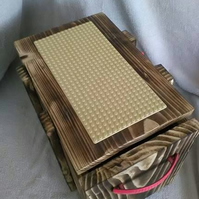 Wooden Lego Crate