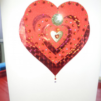 Hand made greeting card