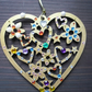 "Hanging ""love heart"" Christmas decoration"
