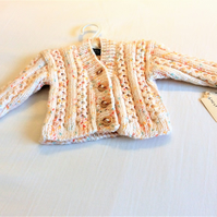 Cable V-neck Cardigan