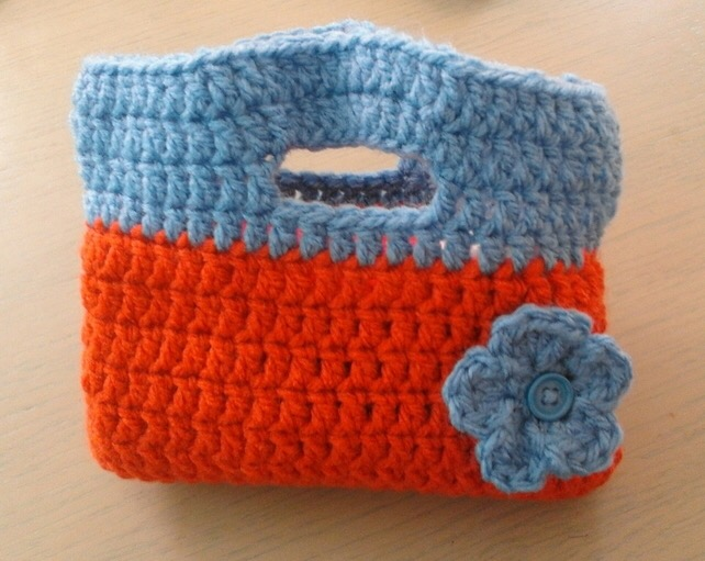Crocheted children's bag