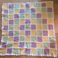 Gorgeous baby blanket