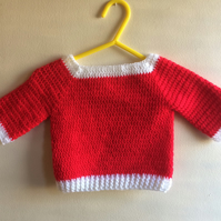 Gorgeous Crocheted Jumper