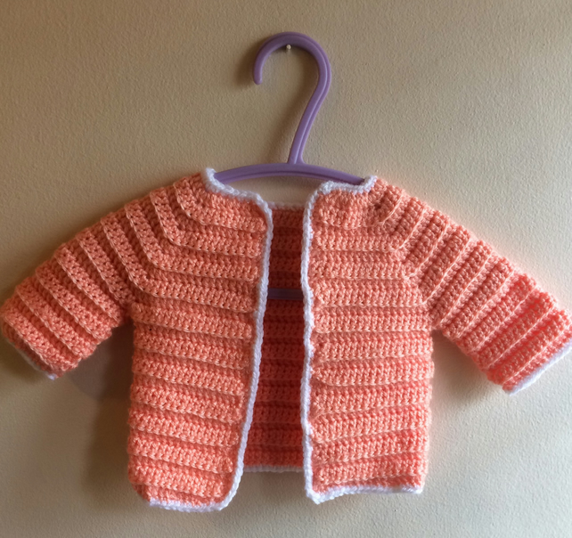 Baby Cardigan  and booties