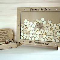 Personalised Wedding Drop box Guest