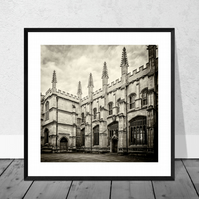 Oxford Architecture Print in 10 x 10 inch Mount