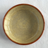 19-58 Flat bottomed bowl 15cm 6 inch (Free UK postage)