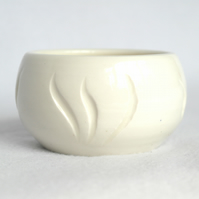 17-259 Hand thrown stoneware porcelalin pottery tea light holder