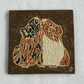 Wall plaque tile guinea pig cavy picture