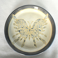 19-90 Wall plate with butterfly