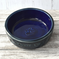 19-05 Pet rat bowl ratties pawprint (Free UK postage)