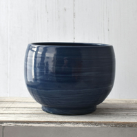 17-219 Blue bowl  (Free UK postage)