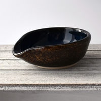 A45 Spoon rest tea bag bowl (Free UK postage)