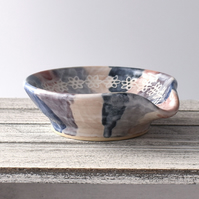 19-398 Spoon rest tea bag bowl (Free UK postage)