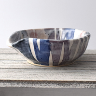 19-399 Spoon rest tea bag bowl (Free UK postage)