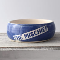 A172 Pet rat bowl THE MISCHIEF (UK postage free)