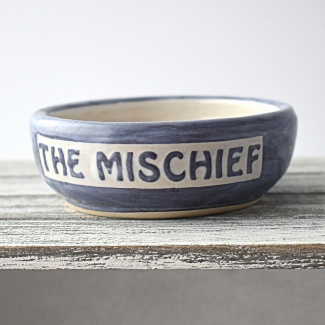 A97 Pet rat bowl THE MISCHIEF (UK postage free)