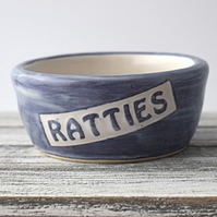A99 Pet rat bowl RATTIES (UK postage free)