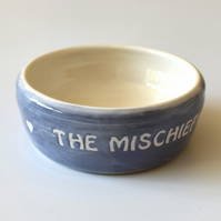 A183 Pet rat bowl THE MISCHIEF (UK postage free)