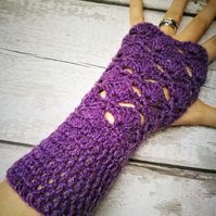Womens gloves, fingerless gloves, wrist warmers, arm warmers, fingerless mittens