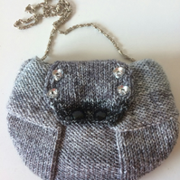 Velvet lined Evening bag