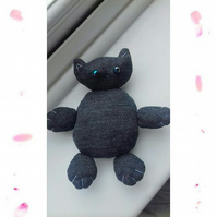 Black Kitty Plushie