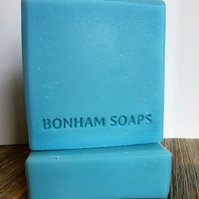 Bergamot, Rosewood & Patchouli Handmade Soap. Made in the UK.