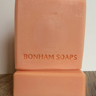 Orange and Cedarwood Handmade Soap. Made in the UK